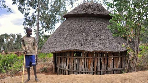 La hutte du peuple Konso