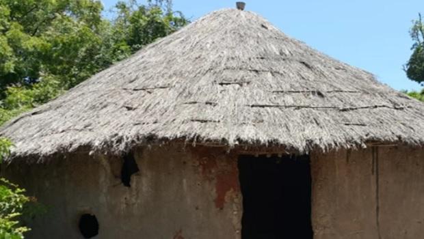 La hutte du peuple Shambala