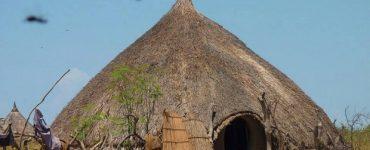 hutte soudan du sud