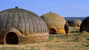 hutte du peuple zoulou
