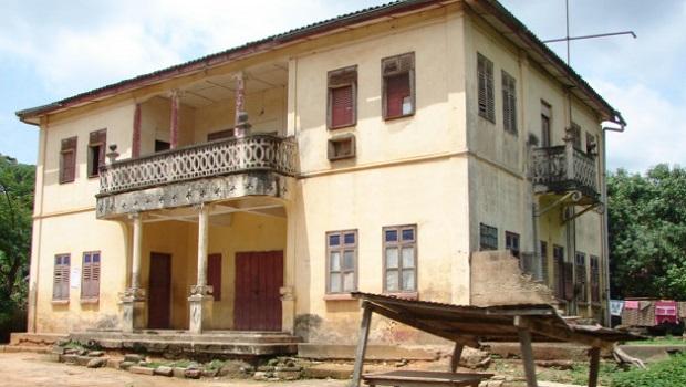 Maisons coloniales allemandes au Togo