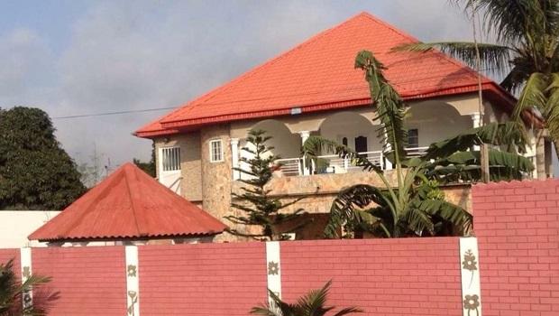 Maison coloniale à Lomé