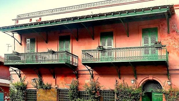 Les maisons coloniales de Saint-Louis