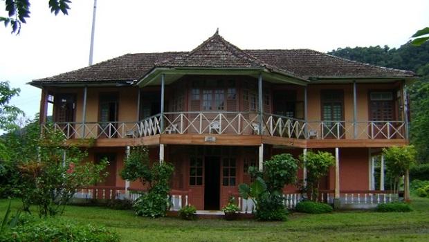 Manoir colonial Sao Tomé