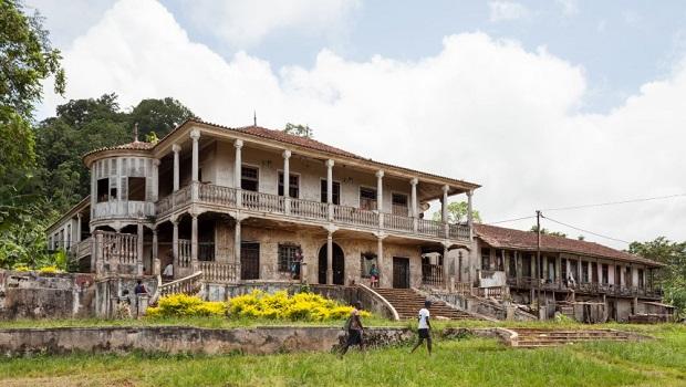 Les maisons coloniales traditionnelles de Sao Tomé-et-Principe