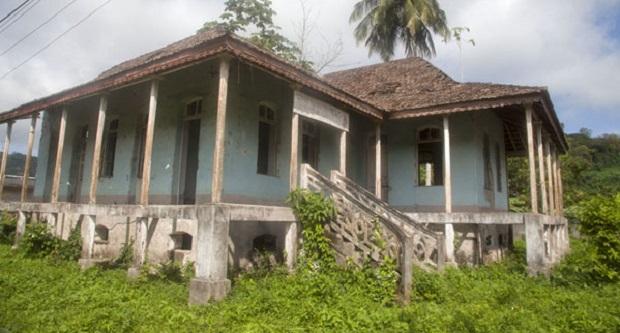 maison coloniale sao tome
