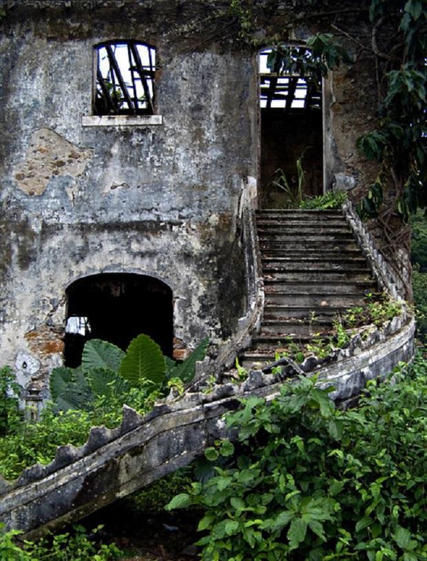 vieille maison coloniale sao tome