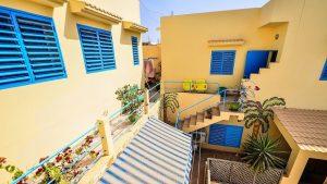 maison colorée dakar