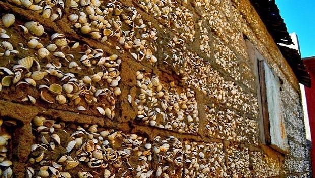 Les maisons en coquillage de Fadiouth