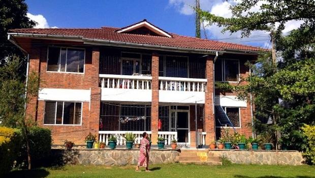 Maison en brique à Arusha