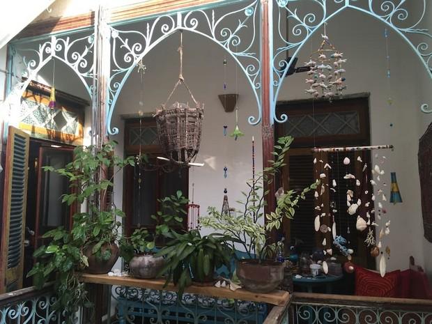 Belle maison indienne à Zanzibar