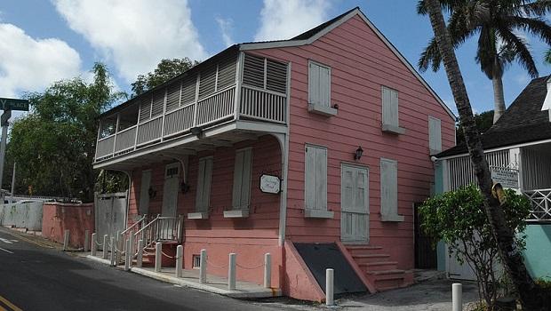 Les maisons de Nassau aux Bahamas