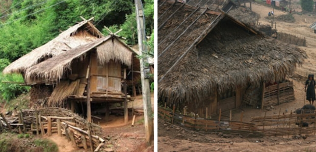 maison peuple akha