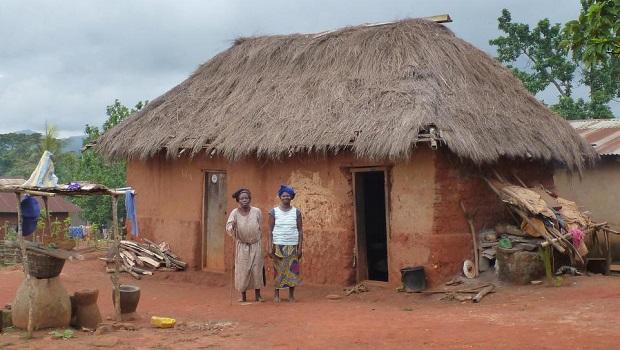 Les maisons rurales au Togo