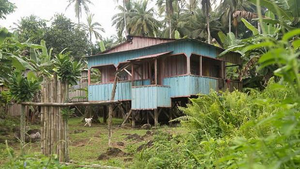 Maisons sur pilotis : Sao Tomé-et-Principe