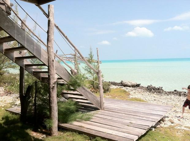 maison sur pilotis bahamas