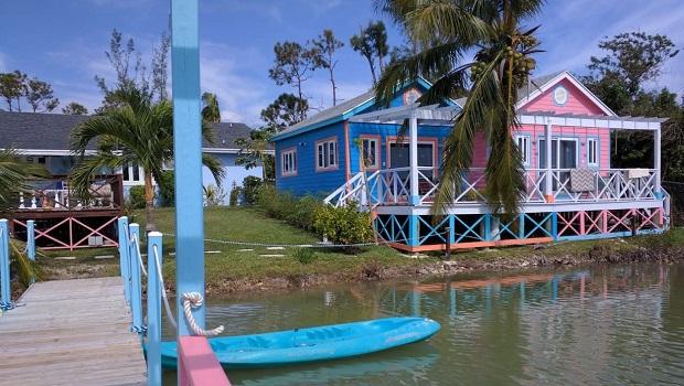 Maison traditionnelle des Bahamas