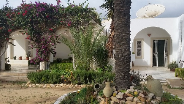 Maison traditionnelle Djerbienne