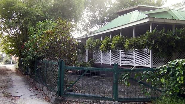 Maison typique de la Barbade