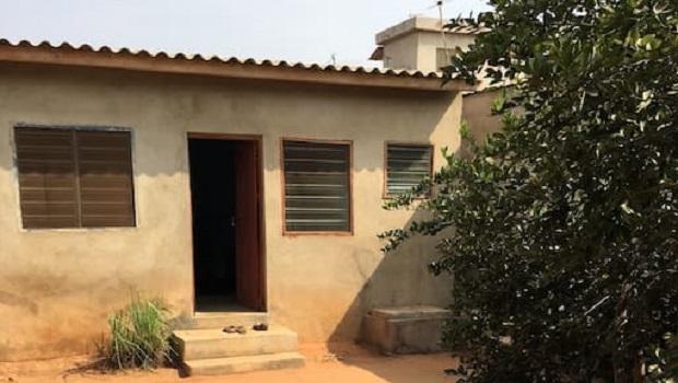Maison de ville typique de Lomé