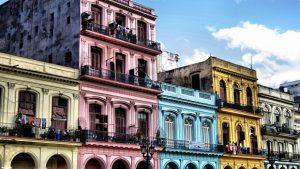 maisons coloniales de La Havane