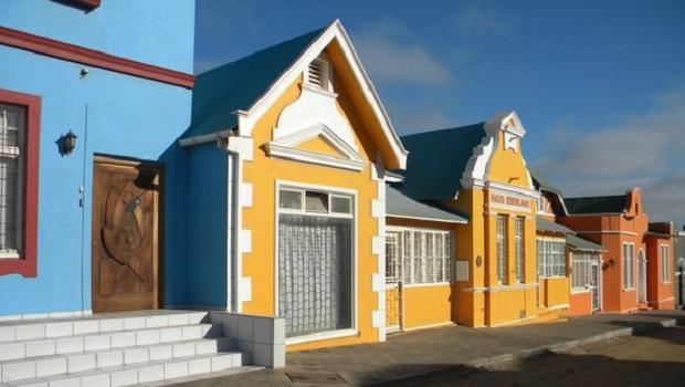 Les maisons coloniales de Lüderitz