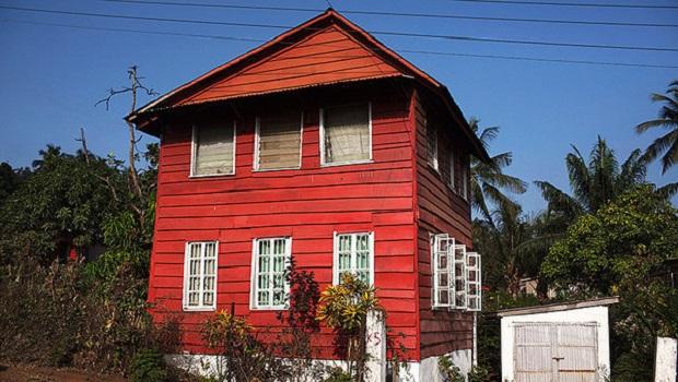 Les maisons créoles de Freetown