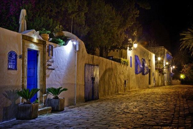 village bleu et blanc sidi bou said
