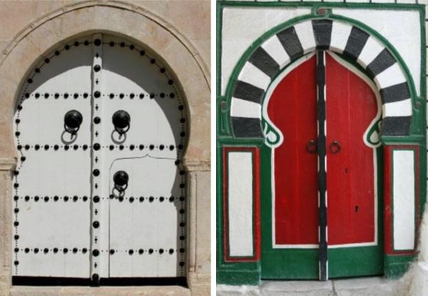 Decoration Porte Sidi Bou Said Of Le Village Bleu Et Blanc De Sidi Bou Sa D
