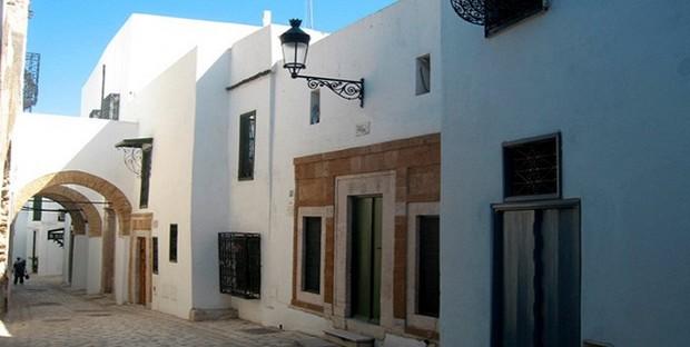 Les Maisons De La M U00e9dina De Tunis