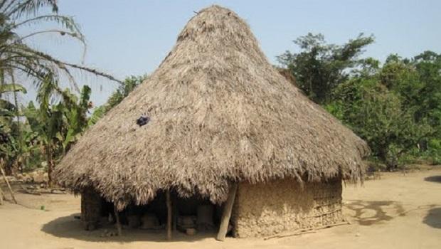 La hutte traditionnelle du peuple Temné