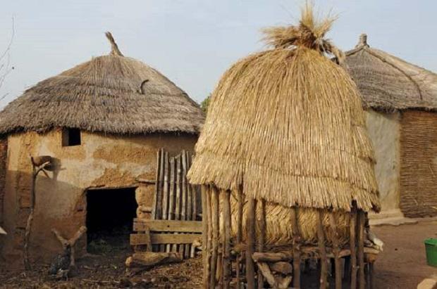 maison rurale au togo