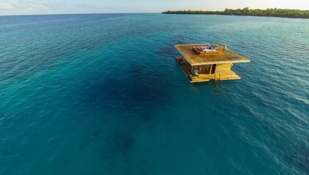 maison flottante tanzanie