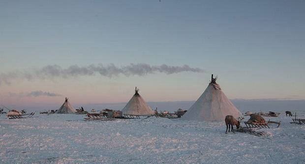 tente nomade sibérie