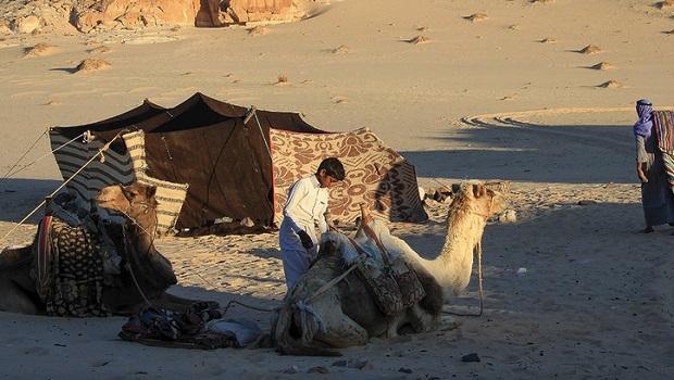 tente bedouin