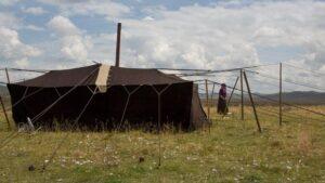 tente nomade tibétaine