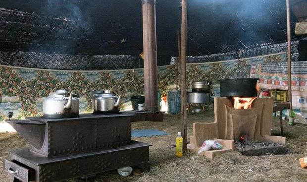 tente nomade tibet