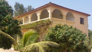 villa coloniale sénégal