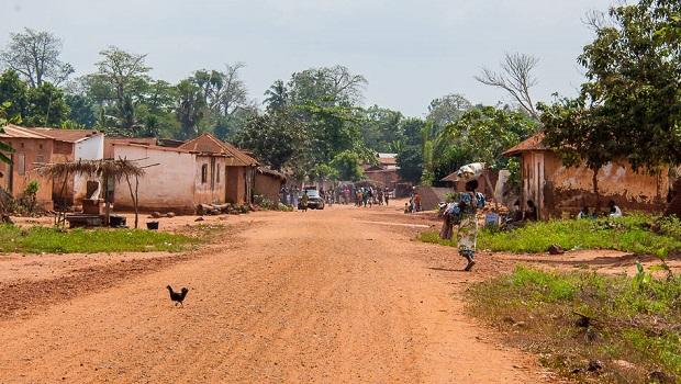 Village rural au Togo