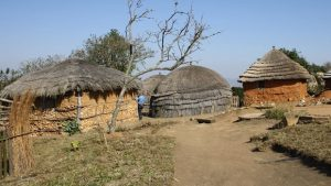 village traditionnel swaziland