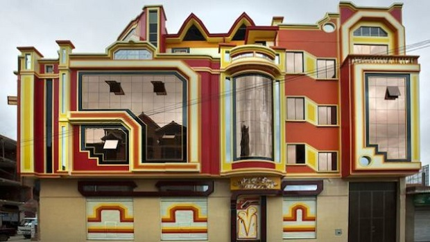 Les étonnants bâtiments d'El Alto