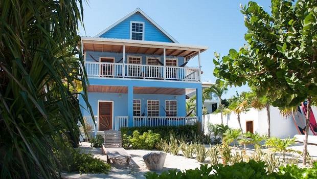 Maison en bois moderne au Belize