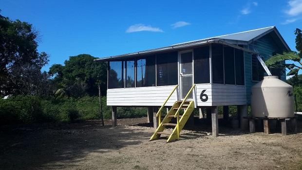 Maison en bois typique du Belize