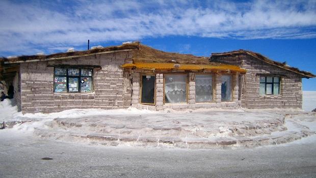 Maisons de sel en Bolivie
