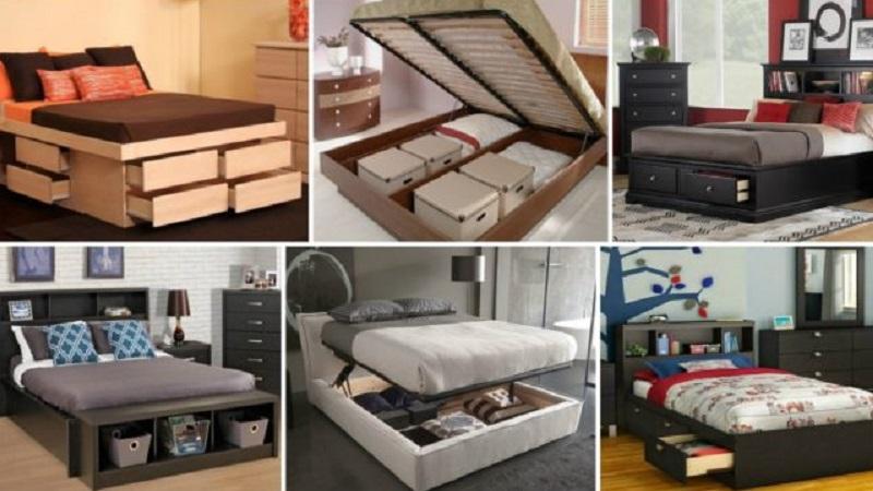 17 lits multifonctions avec des idées de stockage