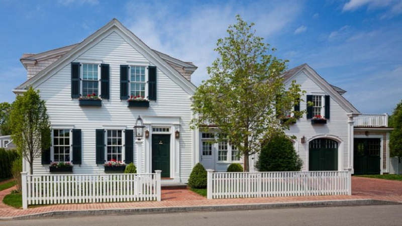 maison de campagne traditionnelle sur Martha's Vineyard
