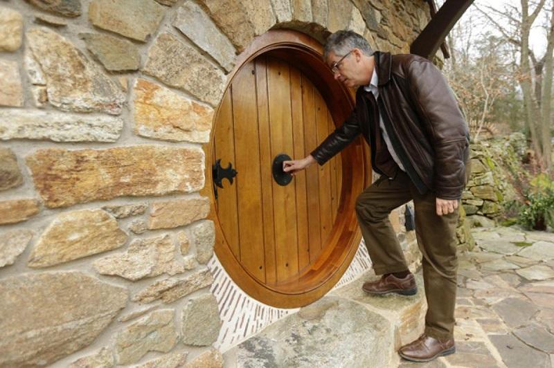 porte bois hobbit