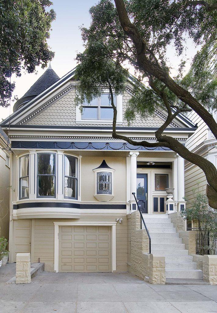 Maison victorienne traditionnelle r nov e san francisco en californie - Maison a vendre san francisco ...