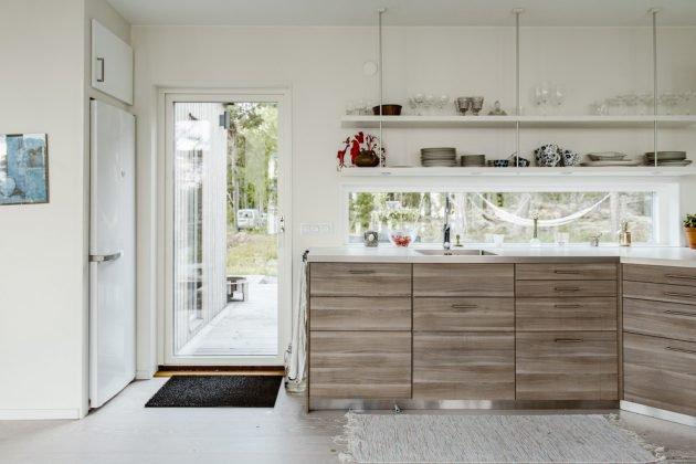 16 superbes designs de cuisine scandinave. Black Bedroom Furniture Sets. Home Design Ideas
