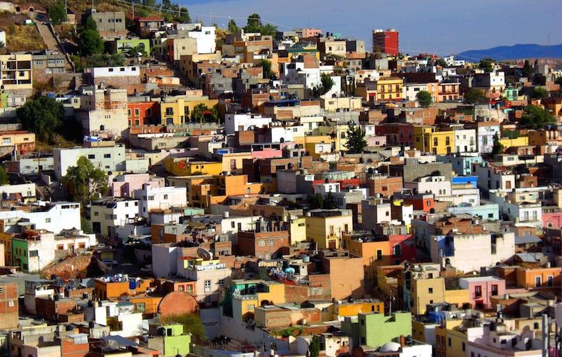 villes colorées